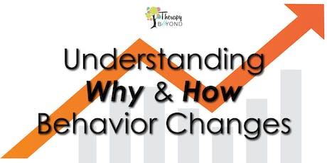 Free Autism Workshop: Understanding Why & How Behavior Changes tickets