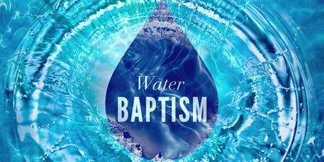 Water Baptism tickets
