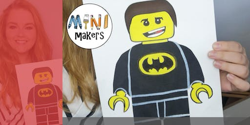 Cardiff Store- Design Your Own LEGO Superhero with 'Make It Soph'