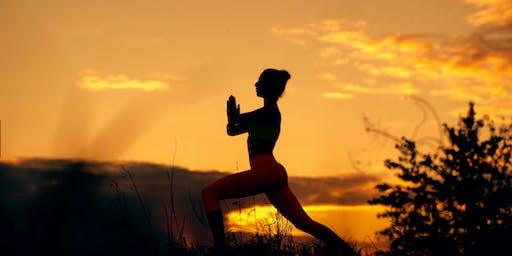Sunrise Yoga at Ashford Acres Inn & Breakfast Buffet