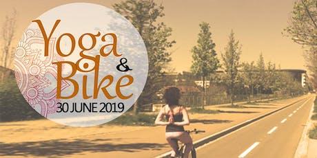Yoga and Bike tickets