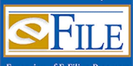 Supreme Court E-Filing Training - ONLINE via Skype for Business tickets