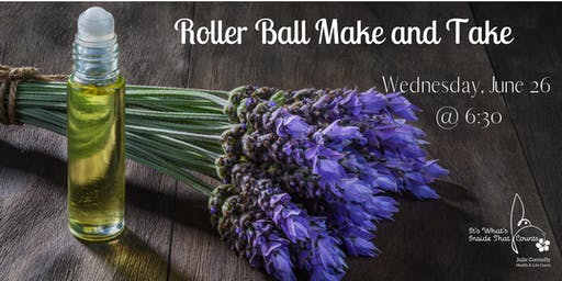 MAKE AND TAKE ESSENTIAL OIL EVENT!