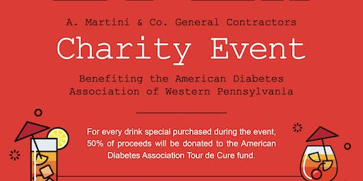 Charity Event to Benefit the American Diabetes Association of Western PA