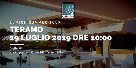 Presentazione Lumion Teramo tickets