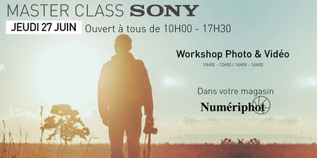 MASTER CLASS SONY #COMING #SOON billets
