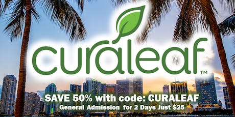 Curaleaf at the Hemp & Health Expo Hosted by Florida Cannabis Coalition tickets