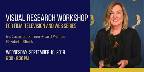 Visual Research and Copyright for Film, Television and Web Series tickets