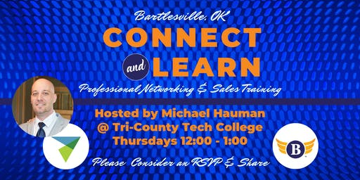Bartlesville, OK: Connect & Learn | Professional Networking & Sales Training