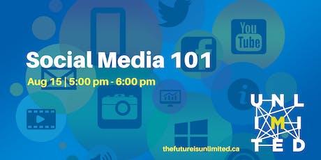 Social Media 101 (Webinar) tickets