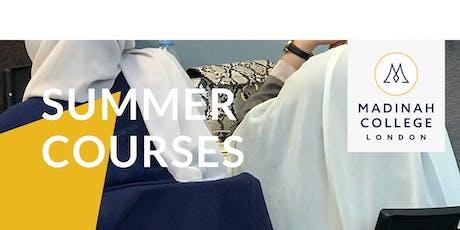 Summer Course: Conversational Arabic & Islamic Studies tickets