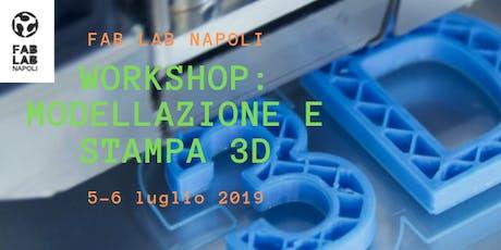 Workshop: Modellazione e Stampa 3D biglietti