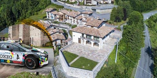 Vivi il 34° Rally delle Prealpi Orobie con l'Osteria al Borgo Antico