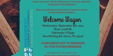 Welcome Wagon at Oakmonte Village of Davie tickets
