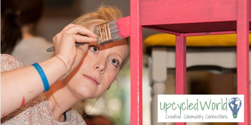 Furniture Painting Class - Learn How to Upcycle Furniture and mix your own Chalk Paint