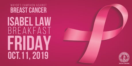 Mayor's Campaign Against Breast Cancer | Isabel Law Breakfast tickets