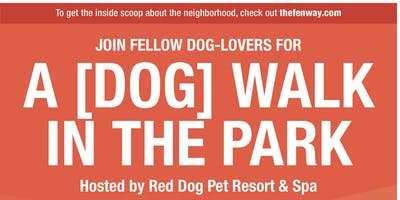 A {Dog} Walk in the Park hosted by Red Dog Pet Resort & Spa