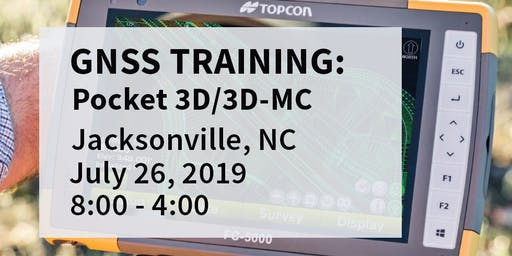 Pocket 3D / 3DMC Training -- Jacksonville, NC