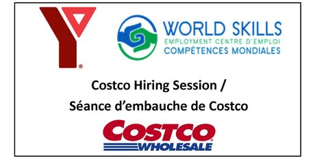Costco Hiring Session / Seance d'embauche de Costco tickets