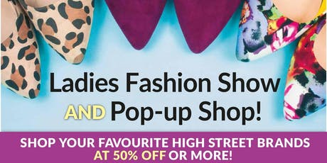 Fundraising fashion show & discount shop Abingdon tickets