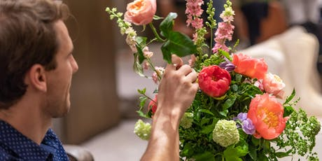 Bouquet Workshop with Nikki Tibbles Wild at Heart and Ketel One Botanical tickets
