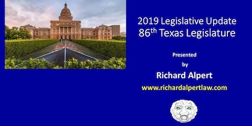 3186 Legislative Update (2019 Legislative Update)