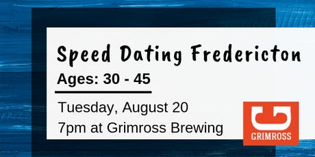 Speed Dating Fredericton - Ages: 30-45 tickets