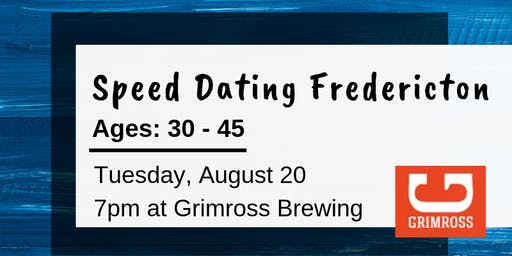 Speed Dating Fredericton - Ages: 30-45