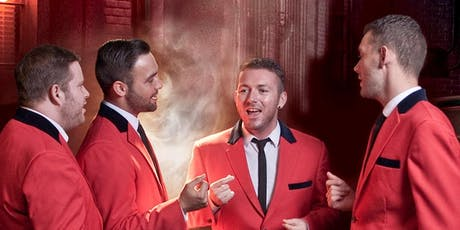 £28.00pp Jersey Boys Tribute tickets