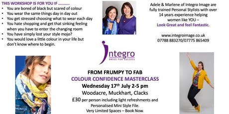 COLOUR CONFIDENCE MASTERCLASS tickets