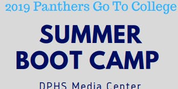 2019 Panthers Go To College Summer Boot Camp
