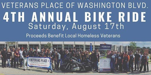 Zodiac MC Bike Ride for Veterans Place 2019
