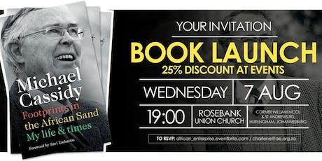 Michael Cassidy's Memoirs Book Launch - Johannesburg entradas