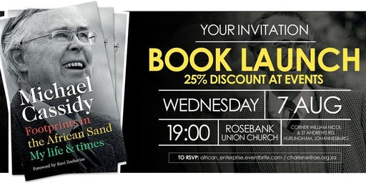 Michael Cassidy's Memoirs Book Launch - Johannesburg