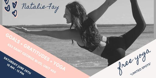 Free Yoga Class - Gentle Flow and Yin with Natalie Fay