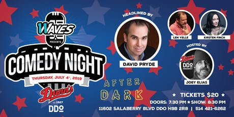 Comedy Night Dunn's DDO Headlined by David Pryde billets