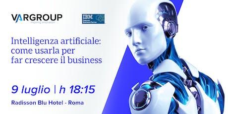 PowerAI Meetup - Roma biglietti