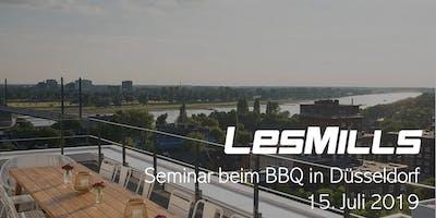 LES MILLS Seminar beim BBQ in Düsseldorf