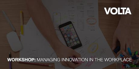 Managing Innovation in the Workplace tickets