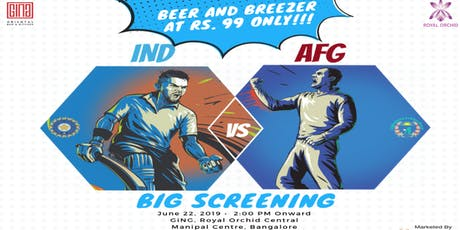 Bleed Blue - India Vs Afghanistan  tickets