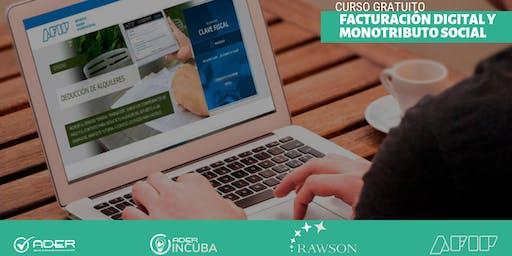 CURSO: Facturación Digital y Monotributo Social