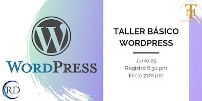 Taller Básico Wordpress