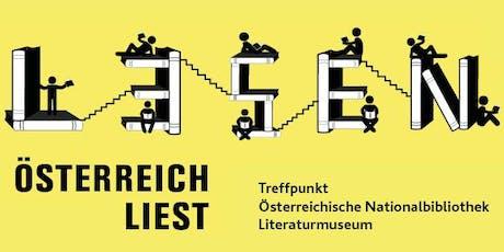 Österreich liest 2019 - Treffpunkt Bibliothek Tickets