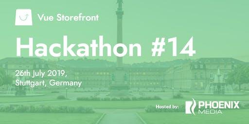 Vue Storefront Hackathon #14 @ Stuttgart, Germany