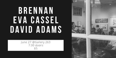Music: Brennan, Eva Cassel & David Adams tickets