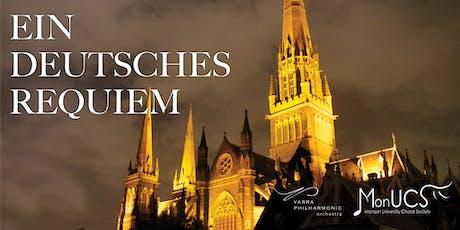 Ein Deutsches Requiem - Brahms tickets