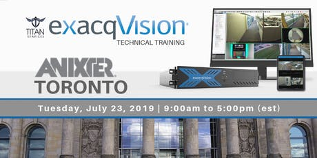 Mississauga ExacqVision Technical Training - Anixter tickets