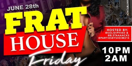 Frat House Friday tickets