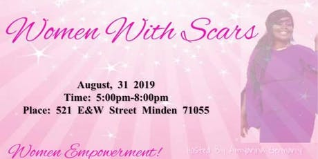 WOMEN WITH SCARS tickets