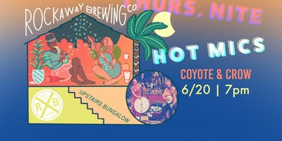 Rockaway Brewing Co. Live Music - Thursday, June 20th, Coyote & Crow!
